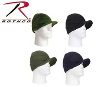 Rothco Deluxe Military Acrylic Jeep Cap With Brim Watch Cap Skull Cap 5409 5708