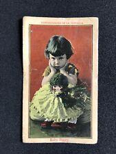 Baby Peggy Rare Spanish Trading Card circa 1920 Serie K #3 Silent Film