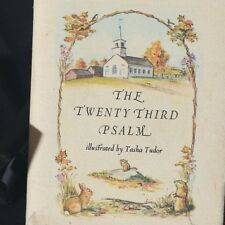The Twenty Third Psalm~1965 Leather bound  w/ Dust Jacket ~ Illustrated by Tasha