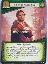 A Game of Thrones 2.0 LCG - 1x A Gift Of Arbor Red  #104 - True Steel - Second