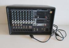 Yamaha EMX312SC 12 Channel Input Powered Mixer Amp Amplifier w/ Power Cord Black