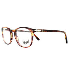 Persol Glasses Frames PO3007V 1055 Brown Violet Tortoise 50mm Mens