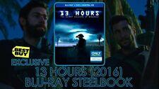 13 Hours: The Secret Soldiers Of Benghazi Blu-Ray Steelbook, NEW