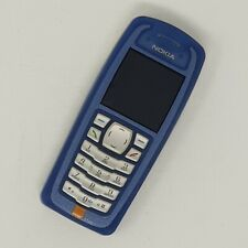 Nokia 3100 - Big Button Mobile Phone - RH-19 - Blue - Good Condition - Unlocked