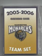 2005-06 Manchester Monarchs (AHL) Series One complete 25 card team set