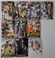 1991 Pro Set Series 1 New Orleans Saints Team Set 10 Football Cards