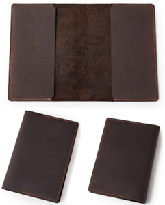 book jacket cover slipcase genuine cow leather fit for 9 9/16x6 1/4x1 5/8 book