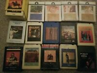 8 track tapes Lot 17 (5 unopened new)