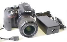 Nikon D5300 24.2MP Digital SLR Camera w/ Lens & Accessories, No Battery, No SD