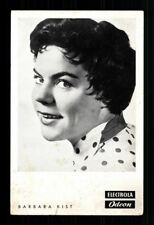 Barbara Kist Electrola 50er Jahre Postkarte  + P 6135
