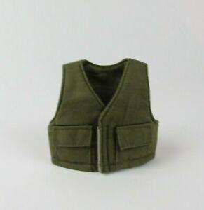 "1/6 Scale M&C Green Military Utility Bulletproof Vest For 12"" Figures GI Joe"