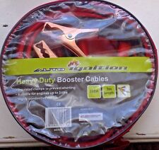 NEW Cheap Car Van Battery Jump Start Leads 200amp 3Metres Long Booster Cables