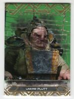 Unkar Plutt 2017 Topps Star Wars Masterwork Green Card #69 Serial #'d /99