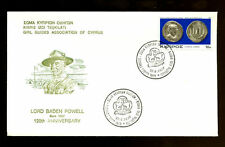 Cyprus 1977 Girl Guides Cover #C1846
