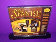 Learn Spanish Your Way Knowledge Adventure Windows Pc Cd Rom 3-Disc Set B467