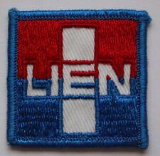 Vtg Lien Logo Company Sew-on Patch Corporation Corporate Advertisement Uniform