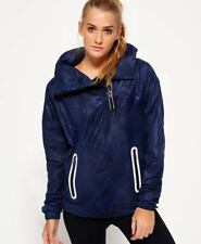 Superdry Mujer Chaqueta con capucha Gym Funnel Shell Rich Navy Python