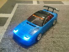 Yokomo Nissan One-Via 180sx 200sx 1:10 RC Drift Karosserie LED für Tamiya hpi