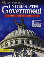 Holt McDougal United States Government: Principles in Practice by Fraga