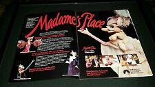 Madame's Place Rare Original Paramount Promo Poster Ad Framed!
