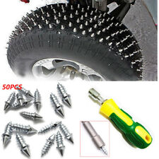 50x ATV Car Motor Tire Winter Snow Spikes Stud Thorn Screws Anti-slip Ice Nail