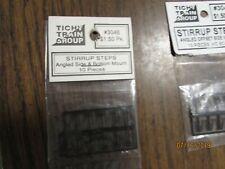 HO SCALE TICHY TRAIN 3046 STIRRUP STEPS ANGLED SIDE/BOTTOM MOUNT