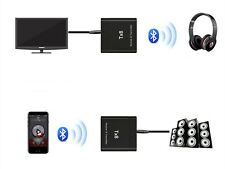Bluetooth 2 in 1 Receiver & Transmitter Wireless RCA to 3.5mm Aux Audio Adapter
