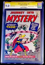 1966 MARVEL COMICS JOURNEY INTO MYSTERY #83 CGC 9.0 SIGNED STAN LEE REPRINT GRR