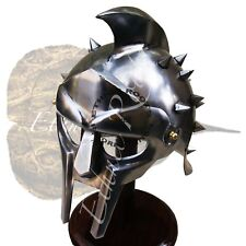 Medieval Armor Helmet Gladiator Maximus Helmet Wearable Movie Helmet Replica
