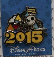 Disney Pin Dlr 2015 Jack Skellington Dated Logo