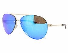 NEW Under Armour Double Down Shiny Gold / Blue 8600083-949661 Sunglasses
