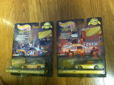 New Hot Wheels Racing Pit Crew 1998 Collector Edition Mcdonalds 44 Mattel 94 lot