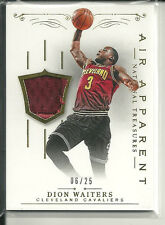 "DION WAITERS ""GOLD"" JERSEY #/25 2013-14 NATIONAL TREASURES AIR APPARENT"