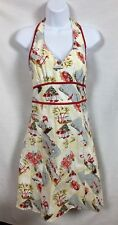 Ruby Rox size 5 Halter Dress Pinup Girl Tropical Vintage Look, Made In The USA-