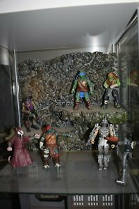 Fully Painted and Assembled 1/12 Scale Action Figure Diorama Background Mossy