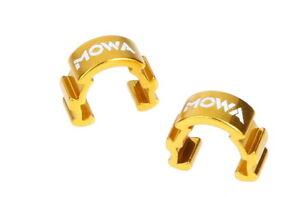 MOWA C-Clip Road Mountain E-Bike Cycling Frame Cable Housing Hose Guide Gold