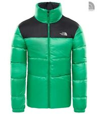 The North Face m Nuptse III Jacket Primary Green/tnf Black L