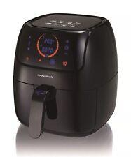 Morphy Richards 480001 Electric Digital Low Fat Health Air Fryer Large 3L Black