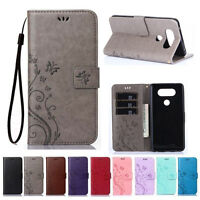 PU Leather Magnetic Flip Stand Wallet Card Case Cover For LG K4 K8 K10 2017