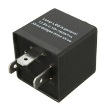 3-Pin LED Flasher Blink Speed Adjustable Relay For Motorcycle Turn Signal Light
