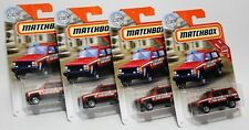 JEEP CHEROKEE POLICE * LOT OF 4 * 2019 MATCHBOX * RIVER VALLEY FIRE RESCUE 1986