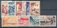 MAROC 1948 Yvert 266-274 ** POSTFRISCH  TADELLOS JAHRGANG (F0917