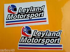 British Leyland Motorsport Coche Clásico Caja De Herramientas Calcomanías Stickers 2 De 150 Mm