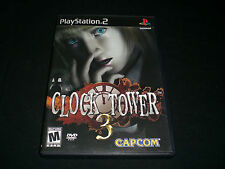 """☆☆ Clock Tower 3 ☆☆ """"Great Condition"""" (PlayStation 2) Complete PS2"""
