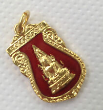 Buddha Sacred Thai Amulet Pendant blessed by Miracles Monks for Luck & Wealth (E