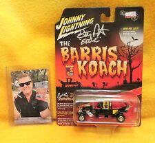 "New listing Autographed - Butch Patrick ""Eddie"" Munsters Koach Johnny Lightning Barris 1/64"