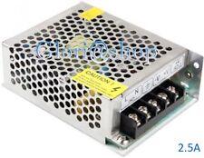 ALIMENTATORE STABILIZZATO 2.5 AMP SWITCHING 12V 220V X TELECAMERA STRISCIA A LED