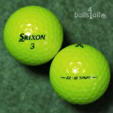 50 Srixon Q-Star Gelb Golfbälle AAAA Lakeballs QStar yellow Bälle Top-Qualität