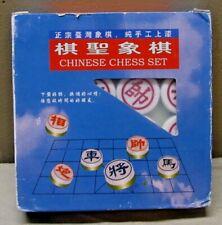 4 en 1 bois Voyage Board Game Chess Backgammon chinois Checkers libre p/&p 012