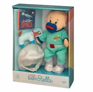 The Manhattan Toy Company Wee Baby Stella Deluxe Astronaut w/ Space Dog - new